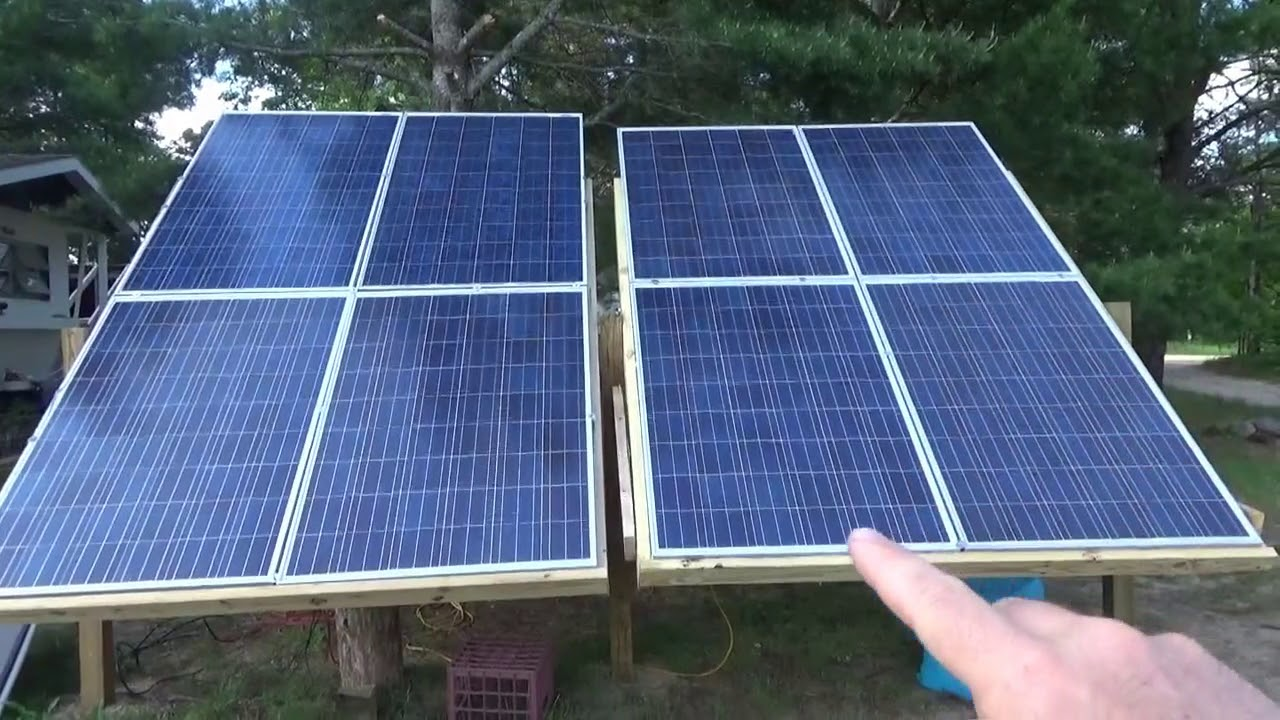 Solar Powered Freezer Fridge Conversion Updates Use Only 300 WH Per Day