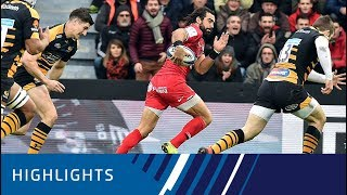 Toulouse v Wasps (P1) - Highlights 15.12.18