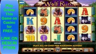 Wolf Run Big Win NOT Bored Playing | IGT SLOT GAMES