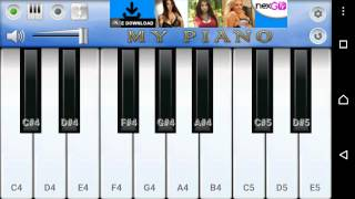 Tujhe dekha to ye jana sanam easy piano