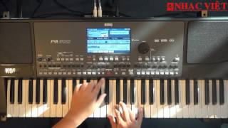 KORG PA600 - Hướng dẫn điệu Slow Rock