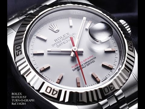 Immaculate 2007 Rolex Datejust Turn O Graph Youtube