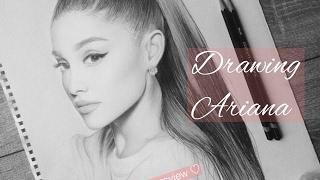 Drawing Ariana Grande ♡