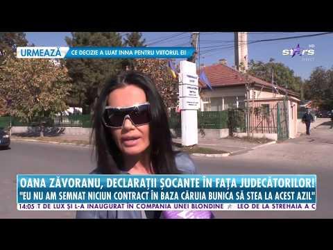 Oana Zăvoranu, Declaraţii şocante în Faţa Judecătorilor