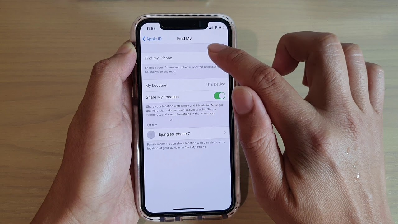 iPhone 11: How to Turn On Find My iPhone - YouTube