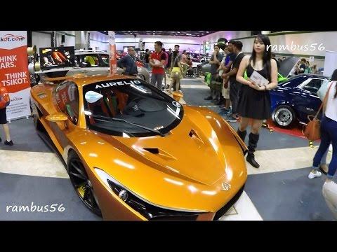 MIAS Manila International Auto Show 2016 Super Sports Car Sporty Wheels