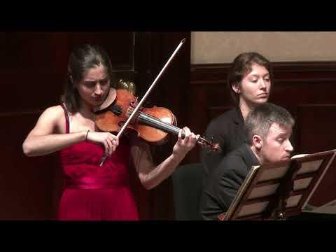 Poulenc Sonata for violin and piano Op 119, Savitri Grier (violin), Richard Uttley (piano)