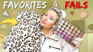 MONTHLY FAVORITES & FAILS (makeup, books, office, fashion)