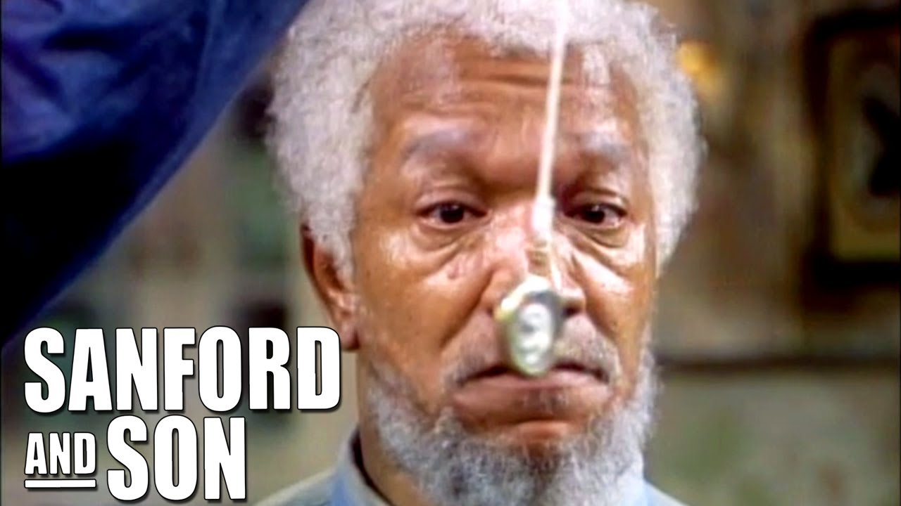 The Solution To Fred's TV Addiction   Sanford and Son
