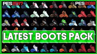 PES 2017 & PES 2018   Latest Boots Pack ( Download And Install )