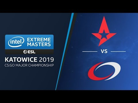 CS:GO - Astralis Vs. CompLexity [Nuke] Swiss Ro1 -  Legends Stage -  IEM Katowice 2019