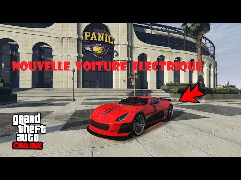 nouvelle voiture electrique cyclone gta 5 online youtube. Black Bedroom Furniture Sets. Home Design Ideas