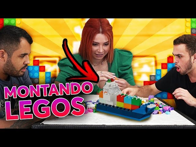 BRUNO TEM UM NOVO TALENTO! - DESAFIO DO LEGO!