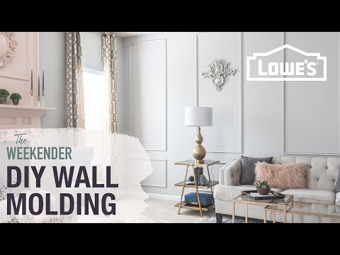DIY Wall Molding