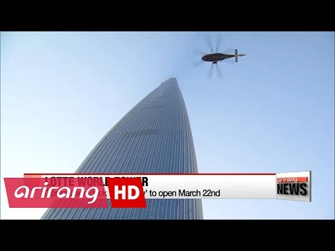 Lotte World Tower to open observation deck on March 22