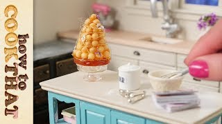 Teeny Weeny Challenge #2 Miniature Croquembouche | How To Cook That Ann Reardon Thumbnail