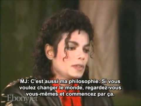 "Michael Jackson's Interview 1987 ""Bad"" VOSTRF Full Version ... Michael Jackson 1987 Interview"