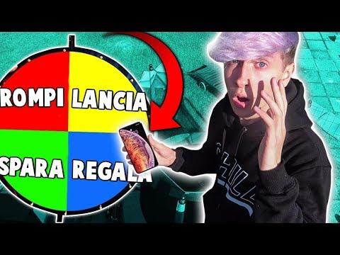 LANCIO IL MIO IPHONE XS MAX DAL TETTO!! (*ruota della tortura*)
