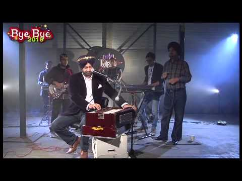 Malkit Singh Performing Live On B4u New Years Eve Show.