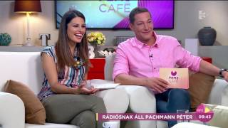 Pachmann Péter ettől tart a legjobban rádiósként - tv2.hu/fem3cafe