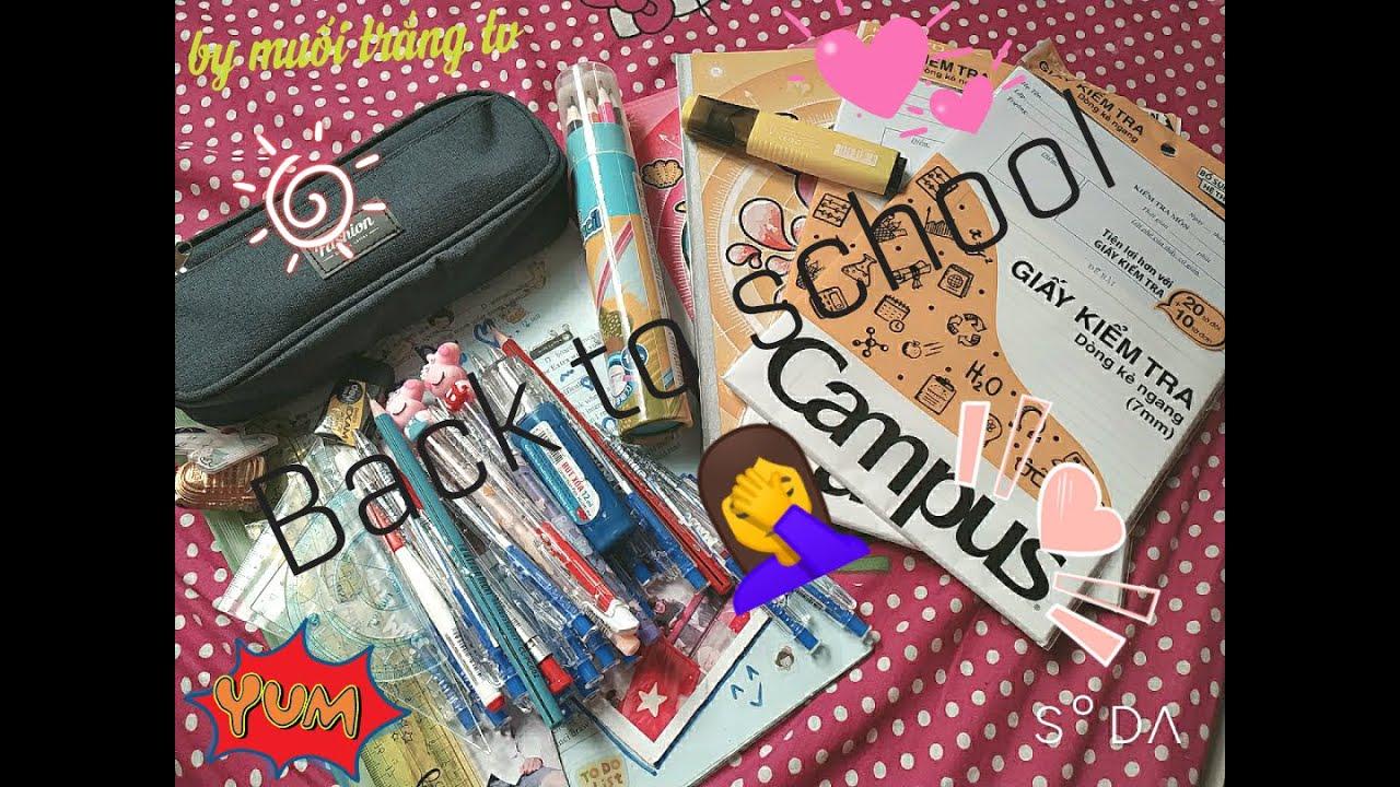 Back To School [Chuẩn Bị Những Gì Cho Năm Học Mới[ by muoitrangtv