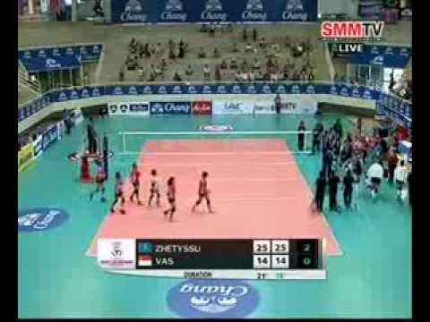 18.04.2014 Zhetyssu Almaty (KAZ) vs Singapore #volleyballzone.net
