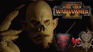 Tomb Kings vs Vampire Counts   STREEEEGOI GHOUL KING - Total War Warhammer 2