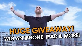 HUGE GIVEAWAY 2018! 🙌 WIN AN iPHONE, iPAD, GOPRO, KINDLE & MORE! 🏆