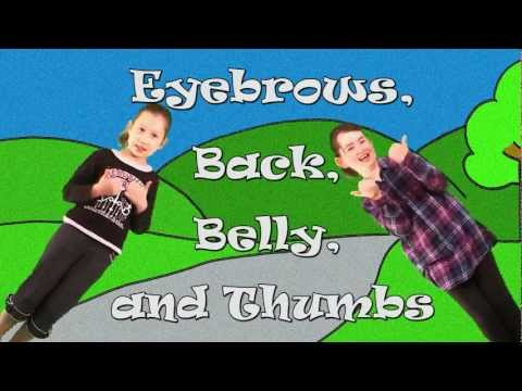 Cheeks Chin Neck and Bum | Learn Body Parts Song for Kids