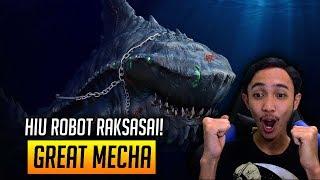 HIU ROBOT RAKSASA KEREN GILA ASLI! - FEED AND GROW FISH INDONESIA #12