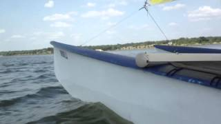 Sailing White Rock Lake Prindle 16 Catamaran