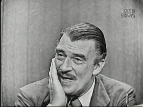 What's My Line? - Dan Topping; Walter Pidgeon (Aug 26, 1956)