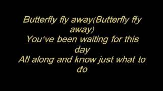 Gambar cover Miley Cyrus ft. Billy Ray Cyrus - Butterfly Fly Away (With Lyrics)