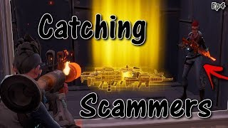 Fortnite Save The World Catching Scammers *MUST WATCH* - Scam Busters ep4