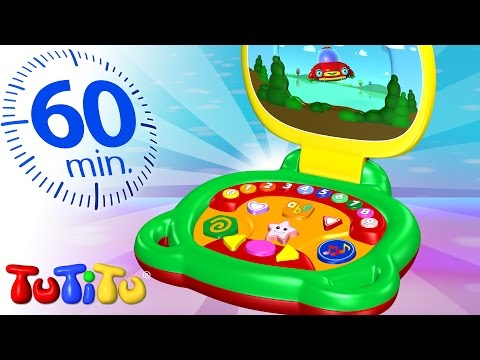 TuTiTu Specials | Laptop For Children | And Other Learning Toys | 1 HOUR Special