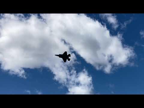 F-35A Lightning Demo Team FULL PERFORMANCE @ New York International Air Show 08/30/20