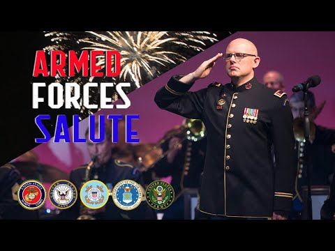 Armed Forces Salute | A Jazz Medley Of Service Songs
