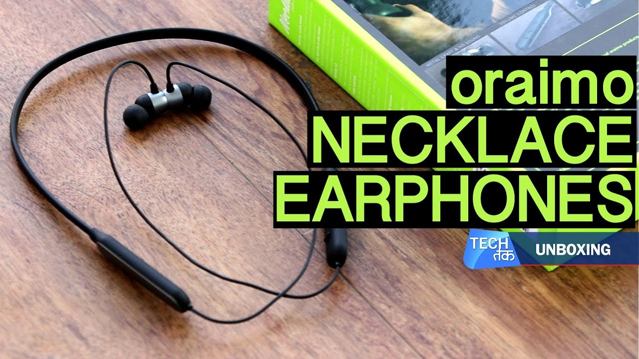 c36c2ac387f Oraimo Necklace Headphones: First Look| Tech Tak - YouTube