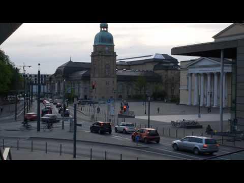 Timelapse Darmstadt City Germany