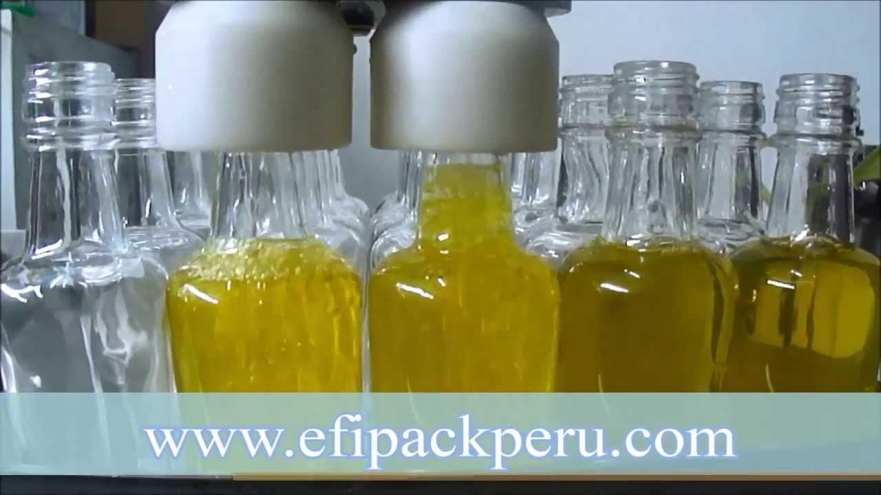 Maquina volum trica envasadora llenadora de botellas - Botellas para perfumes ...