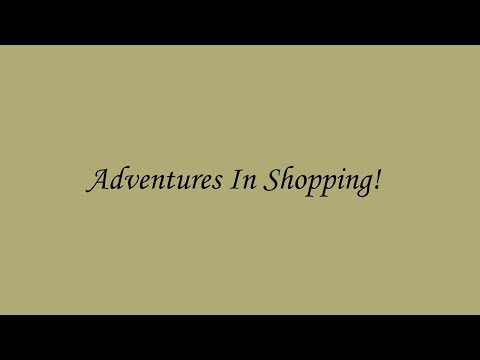 Mr. Proper: Adventures In Shopping