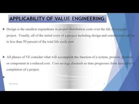 Value Engineering seminar presentation