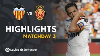 Highlights Valencia CF vs RCD Mallorca (2-0)
