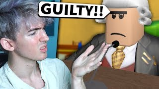 This Roblox JUDGE got me IN TROUBLE for NO REASON