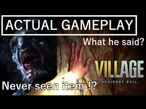 【SUMMARY】Actual Gameplay RESIDENT EVIL 8 VILLAGE ENGLISH translation CAPCOM TGS2020 What he said?