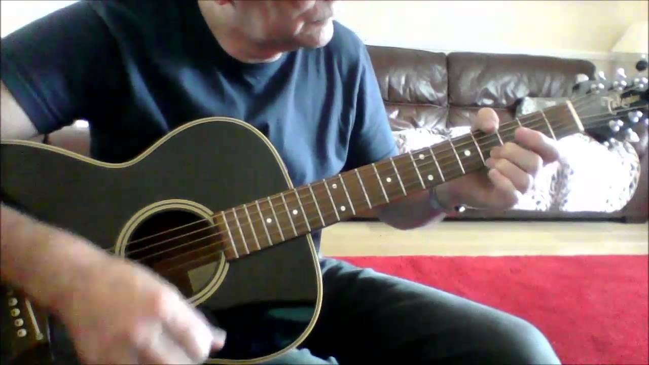 How Can You Mend A Broken Heart Open E Tuning Demo Takamine