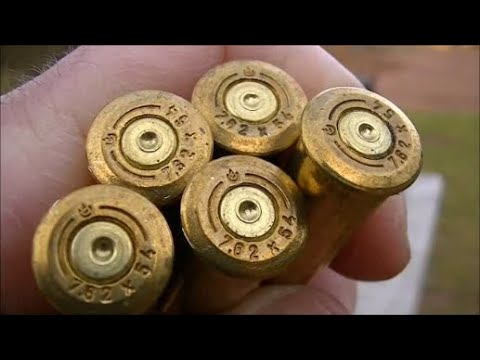 Bell 148 grain 7.62x54R Soft Point Ammo (Range Test)