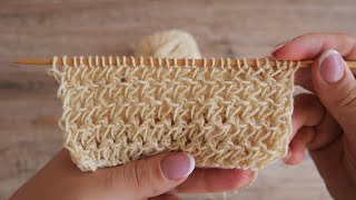Новый узор спицами | New knitting patterns