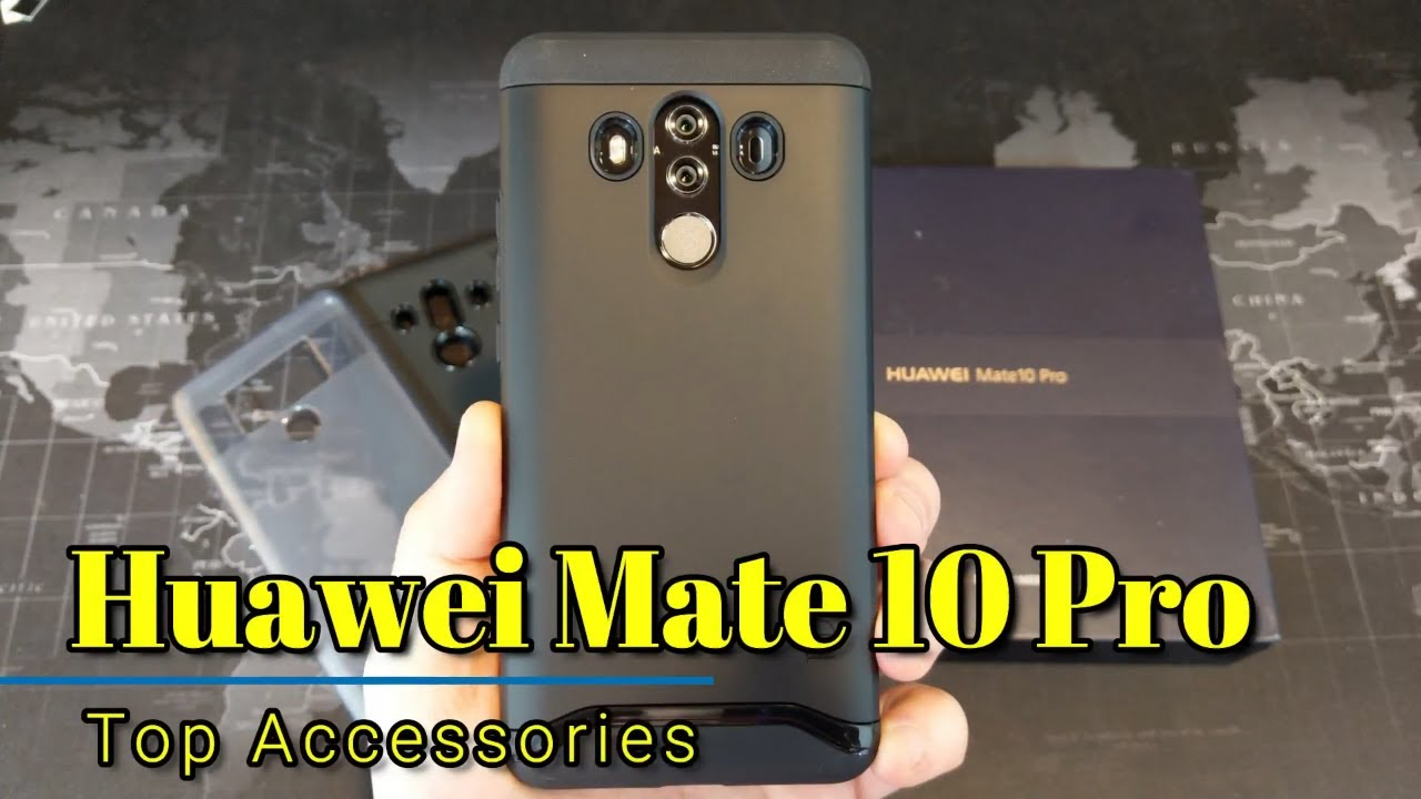 on sale 207e4 dee05 Huawei Mate 10 Pro - Top Accessories!