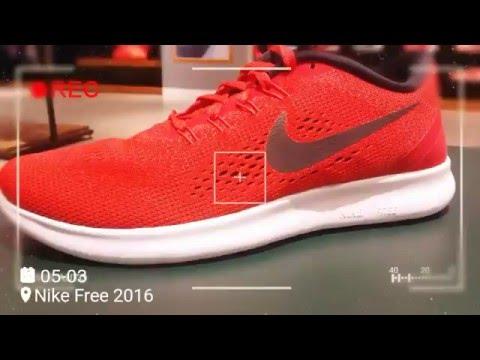 Nike Free Run 2016 On Feet - YouTube